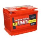 Аккумулятор 6-ст 55 Unix Professional new прямая полярнось