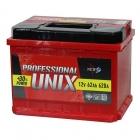 Аккумулятор 6-ст 62 Unix Professional new пп